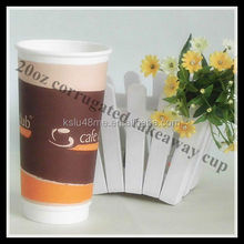 20oz Paper Cup Paper Double Walled Glass Cup