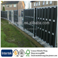 Easy install top quality WPC composite fence, composite fence panels