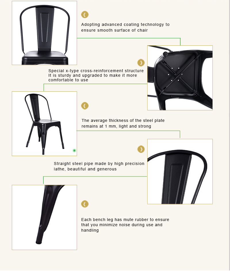 Chairs Metal Waiting Metal Model Dining Chair Design Chair Black