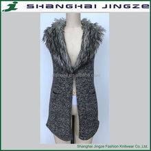 womens sleeveless cardigan sweaters High Quality knitted sweater cardigan