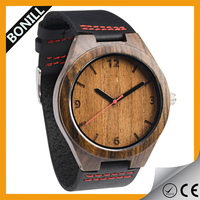 wooden watch dial, Popular wood watch for ladies and man, japan quartz movt wooden watch