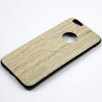 3D wooden print imitation leather gel TPU elephone skin case for ip 6 i6 6g 4.7""