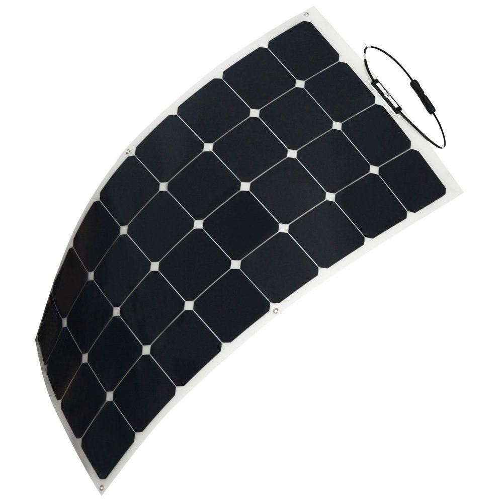 100W 150W 12V Maine Semi Flexible Sunpower cell Solar Cell Plate Solar Panel