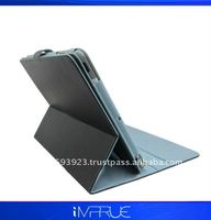 For Ipad2 leather case with 360 ratation