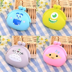 wholesale silicone coin purse different styles for choice
