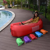 2017 Shenzhen Inflatable Lazy Beach Bed