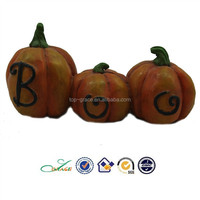 2015 Halloween souvenir craft resin pumpkins