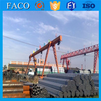Tianjin gi pipes ! scaffold galvanize pipe 6 meter threaded galvanized steel pipe 1/2