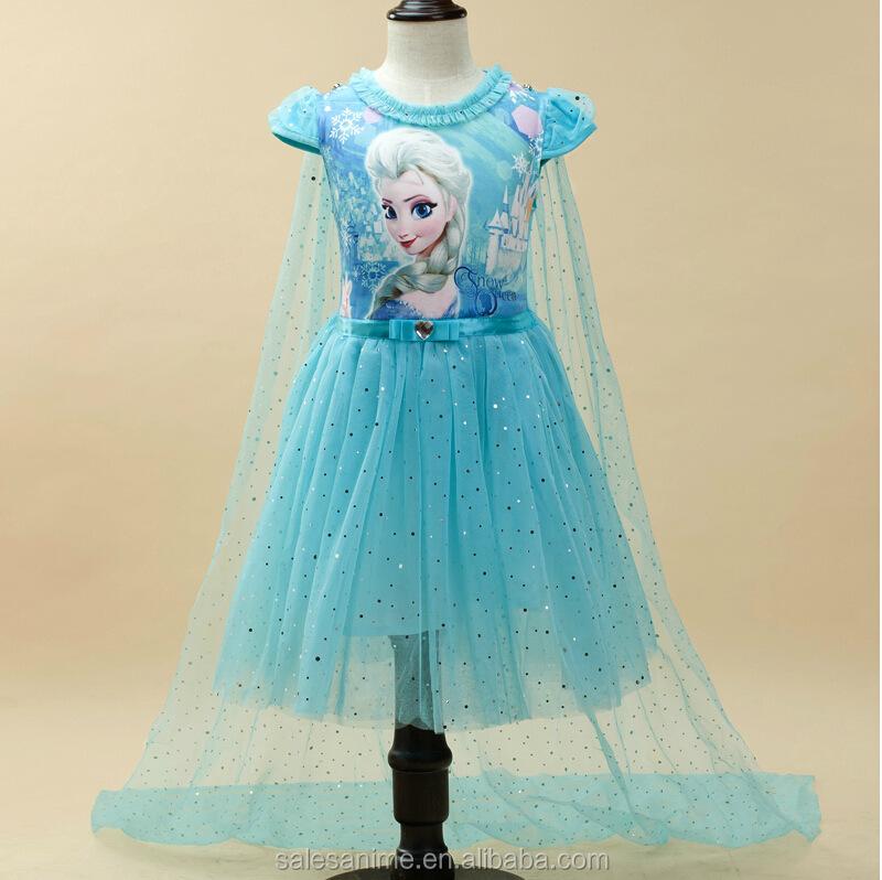2016 latest hot sale gambar frozen elsa dress wholesale