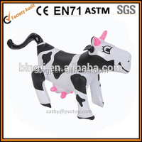 Wholesale giant inflatable cow toy, inflatable cow size