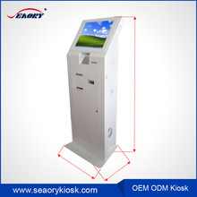 Super Slim Self-Service Inquiry Kiosk with Touch Screen for Airport
