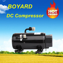 DC12v 24v dc air conditioner for truck cabin van cabin and construction machineries air conditioning with electric compressor