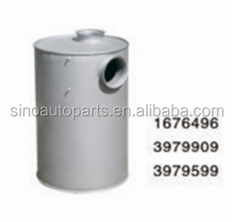 AUTO MUFFLER SILENCER 1676496 3979909 3979599 FOR VOLVO