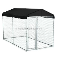 china supplier 4X4X1.8m Australia large dog run kennel with low price /animal cages/animal backyaed fence