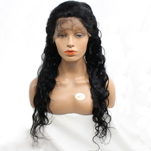 Grade 10A Hand Tied Human Made Hair Glueless Cap Wigs Loose Wave Brazilian Hair Long Wigs With Baby Hair And Straps