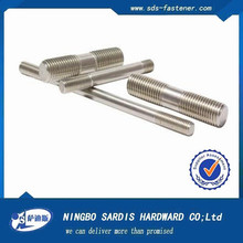 China fastener manufacturer for construct screw bolt making machine price SS304 thread rod