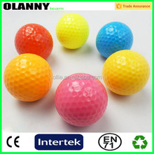 high quality bottom price blank large golf ball manufacturer