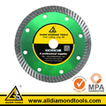 Good Performance Diamond Super Thin Turbo Saw Blade for Dry and Wet Cutting