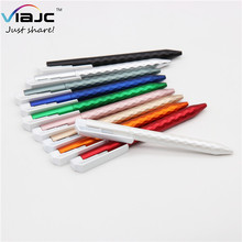 logo printing metallic diamond pen,3d surface casing strongly draws to the logo <strong>flat</strong> clip printing pens