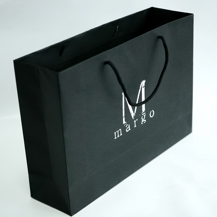 Elegant paper bag packaging shoes dress gift excellent quality bag