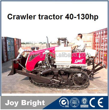 CRAWLER TRACTOR 40hp to 130hp with cabin front blade