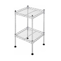 SUS304 Wire Shelving houseware wire shelving 2-tier wire shelvings