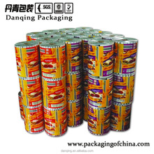 DQ PACK laminated stock plastic film roll for ice cream packaging