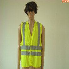 Custom Logo With EN20471 CE Standard High Visibility Reflective Safety Vest