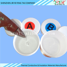 Two-component Transparent Thermal Conductive Adhesive Silicone Glue