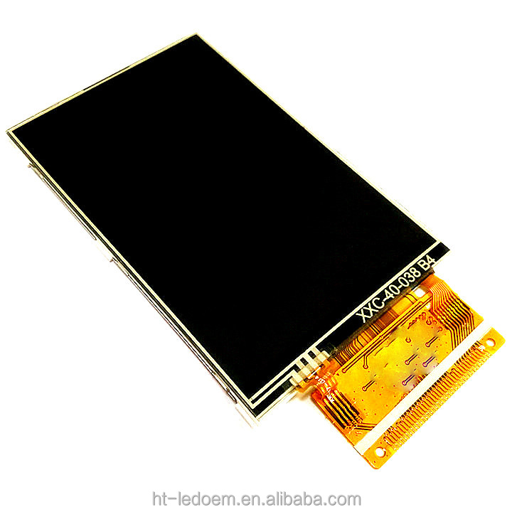 High resolution large lattice full view angel 8 & 16 bits compatiable 320*480 resolution ILI9486 driver IC 4.0 inch TFT <strong>LCD</strong>