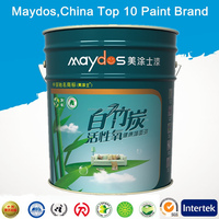 Waterproof spray paint Active Oxygen Interior latex Paint M9700