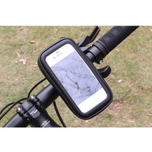 2018 Hot Sale Uiversal Lazy Waterproof Bicycle Bike Phone Holder Bag For Smartphone 4.7-6.3inch