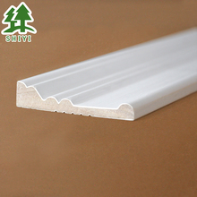interior wall decoration bevel wood casing moulding