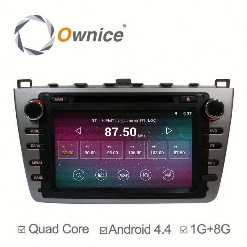 quad core RK3188 Cortex A9 android 5.1 Auto GPS for Mazda 6 2008 2009 2010 built in BT