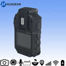 One Key Video Recording Huadean Personal Body Worn DVR with WIFI Live Stream for law enforcement