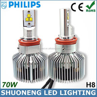 Guangzhou Factory 3500lm 35W Ultra Bright H8 Conversion Kits LED Truck Head Lamp Philips