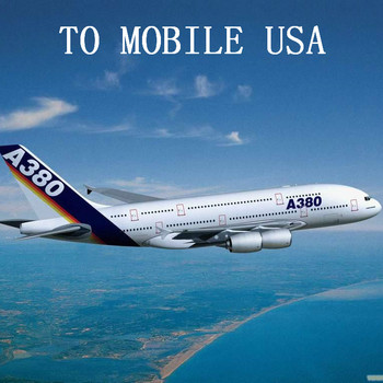 Air Freight to MOBILE MOB USA from China Shanghai Beijing Shenzhen Guangzhou Chongqing Chengdu Xi'an