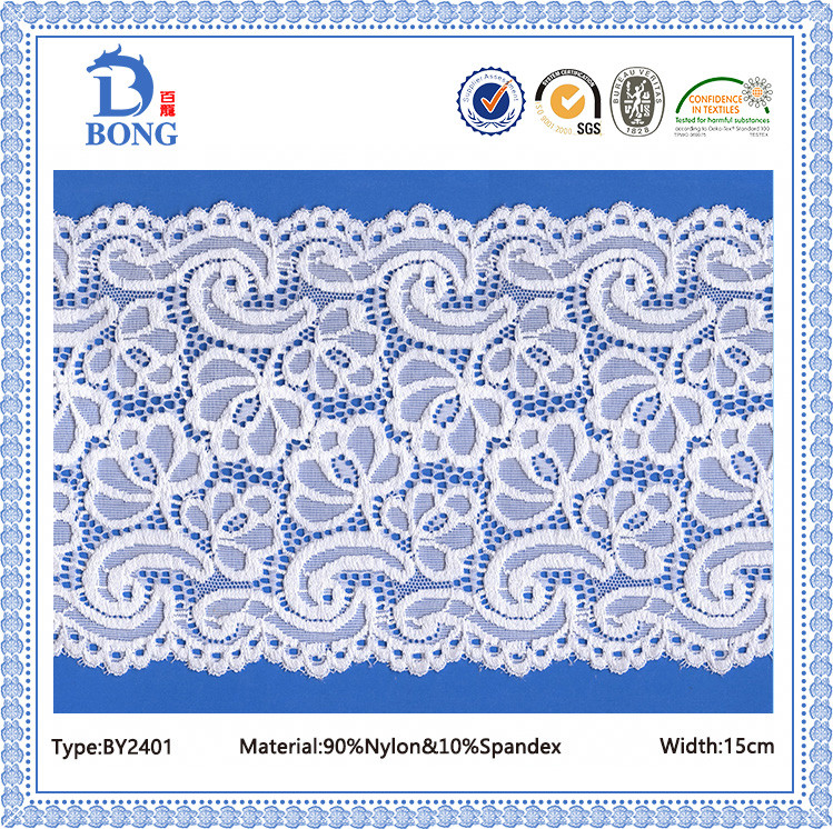 Vintage net making lace fabrics material for girl dress