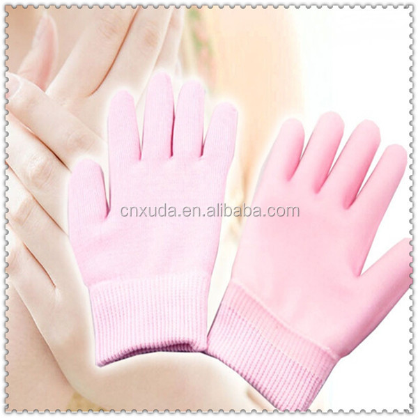 Hot-selling Pink Color Girl Silicone Gel Glove,Gel Socks,Gel Products
