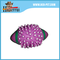 CHEW PROOF VINYL SPUR FOOTBALL DOG TOY FOR BIG DOG