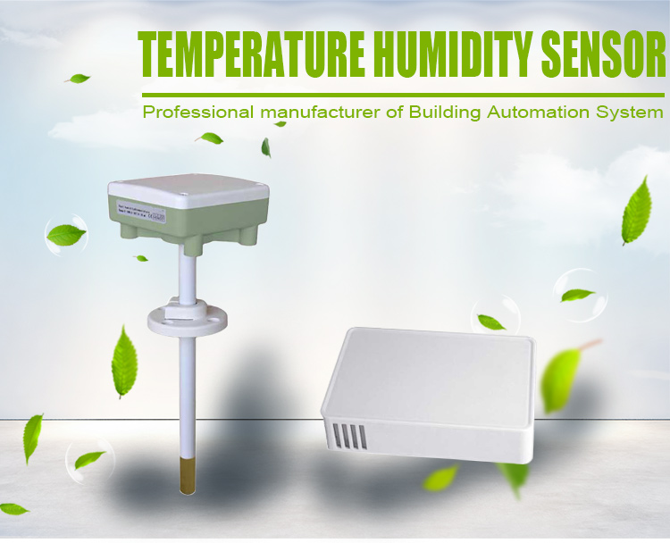 Duct 0 - 10V or 4 - 20mA Temperature & Humidity Transmitter