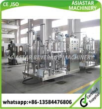 Newest type automatic syrup water drink mixer machine