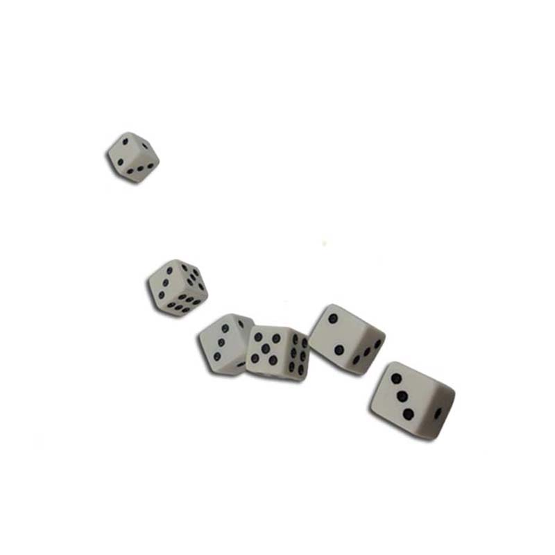 Custom Printed Dice with High Quality of Various Sizes Wholesale,16mm Purpose Square Plastic Dice for games