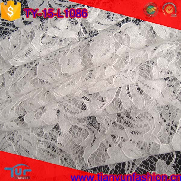 high quality competive price shaoxing textile cording embroidery lace fabric dubai