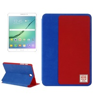 Brand Baseus Assorted Colors New Smart Book Cover Stand Flip Leather For Galaxy Tab S2 9.7 T810 T815 8.0 T710 T715