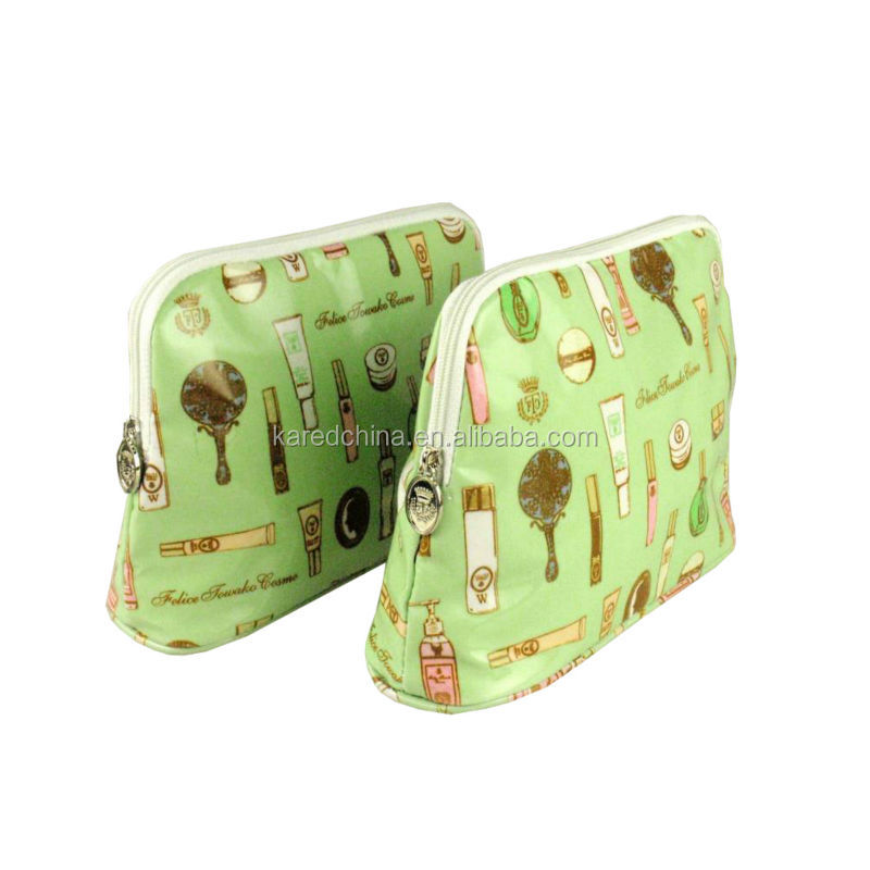 Cheap promotional cosmetic pouch,travel cosmetic bag wholesale