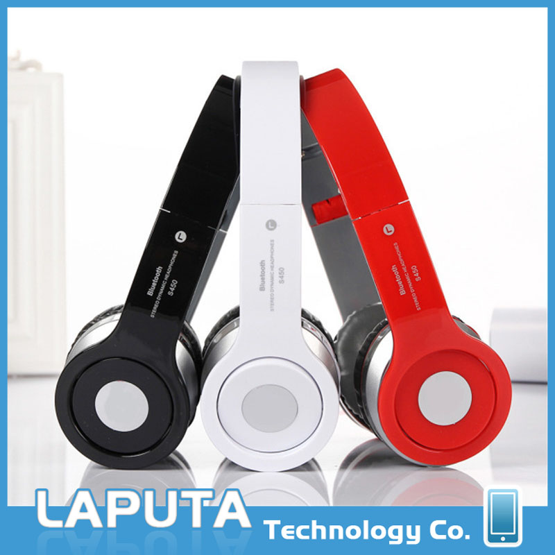 New design wireless S450 bluetooth stereo headset,used mobile phones,made in China