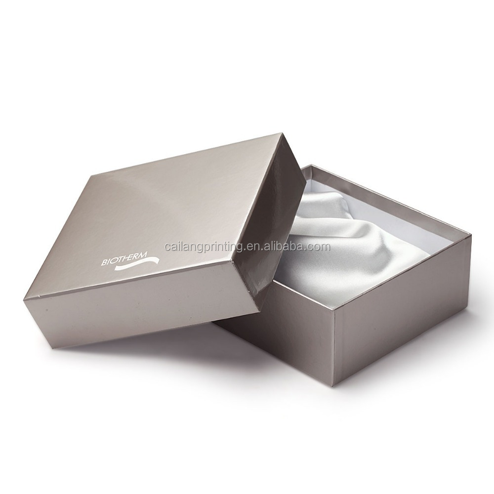 cardboard gift boxes for skin care elegant cosmetic paper box with blister beauty paper box for sales