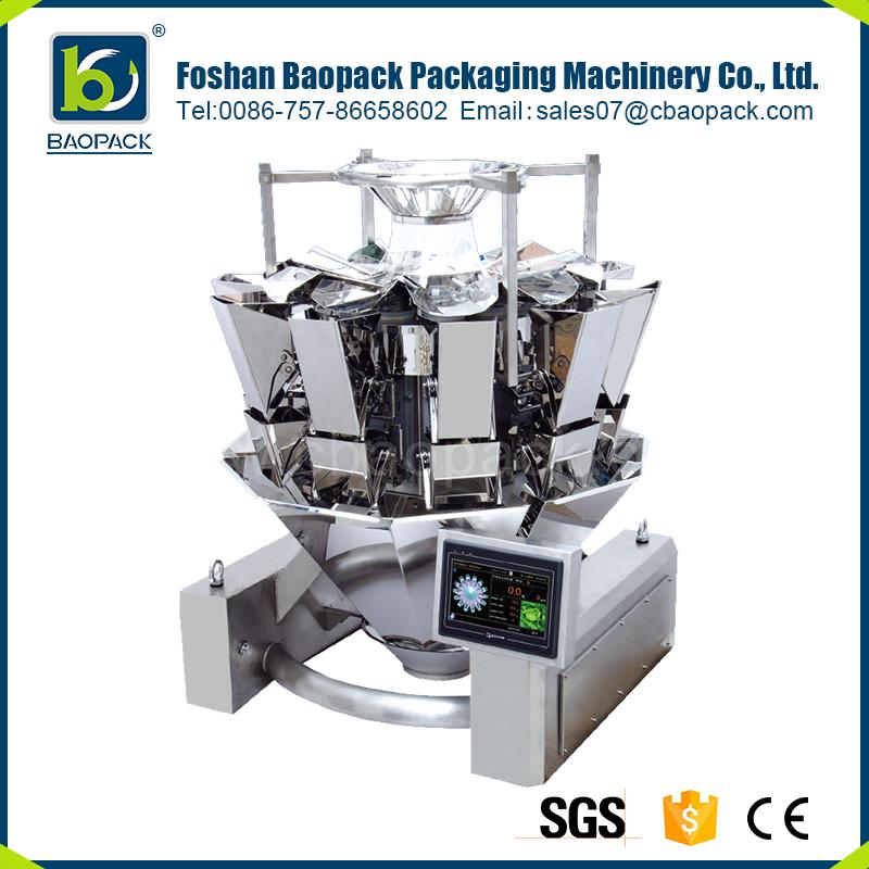 China with great price digital mini multihead weigher for dry fruits