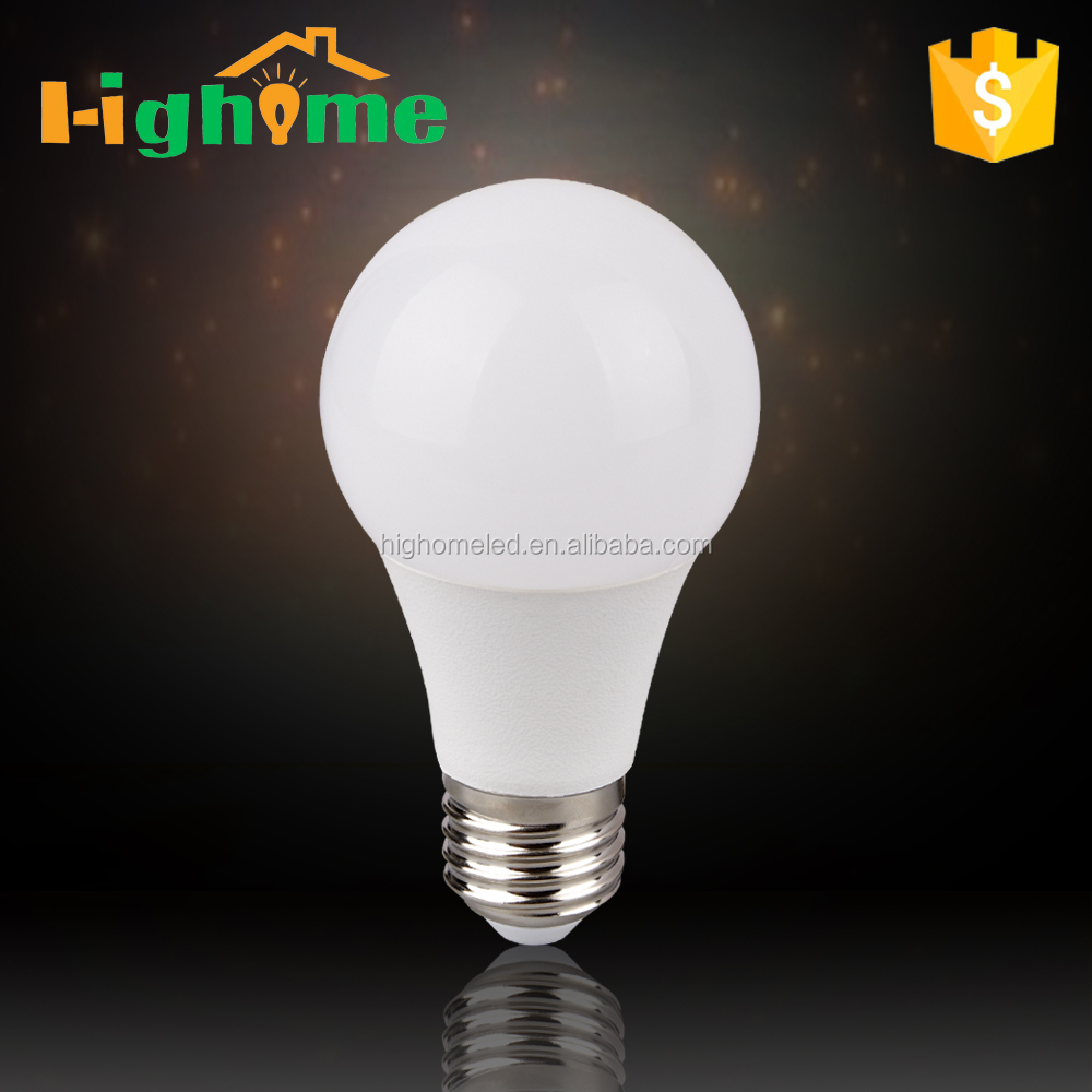 New product A60 bulb E27/B22 led a19 bulb china factory